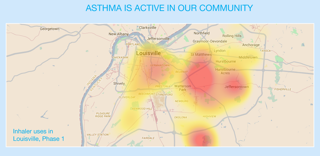 Asthma is active in our community
